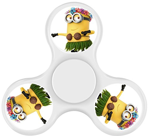QIAO 23AD Minion Hand Fidget Spinner Kill Time High Speed Bearing ADHD Focus Anxiety Relief Toys for Children and Adults