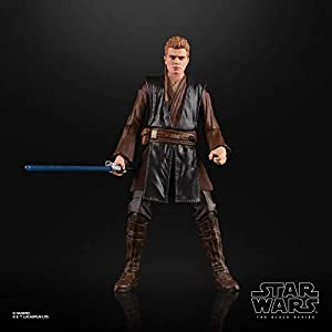 Star Wars The Black Series Anakin Skywalker (Padawan) Toy 6″ Scale Attack of The Clones Collectible Figure, Ages 4 & Up