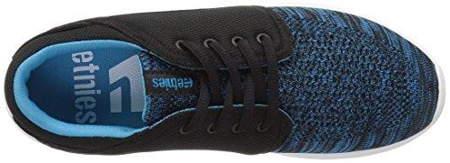 Etnies Scout Yb W's, Zapatillas de Skateboarding para Mujer Schwarz (587 , Black/Blue)