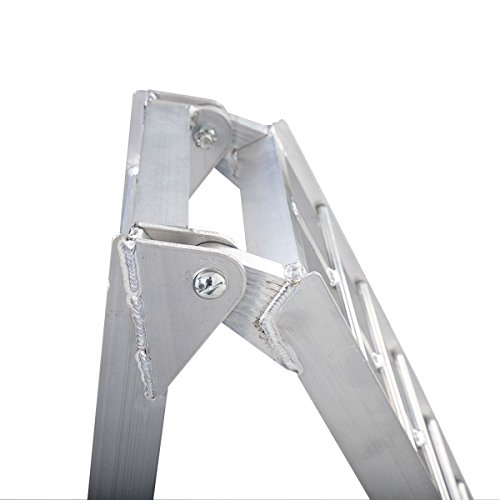 7.5' Heavy Duty Aluminum Motorcycle Bike Ramp Arched Foldable Loading Ramps New by Unknown (Image #4)
