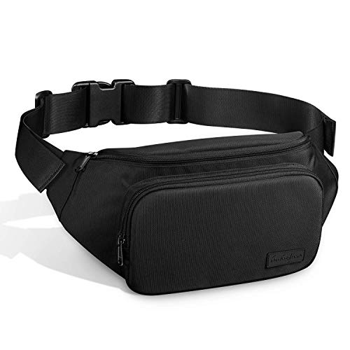 AUDIOFINA Fanny Pack Waist Pack for Man and Women Waist Bag Bum Bag with Adjustable Strap Large Capacity Perfect for Running Hiking Cycling Traveling and Daily Use(Type1)