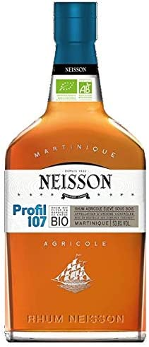 Neisson - Profil 105 Bio - Ron Ambar 53,3 ° 70cl: Amazon.es ...