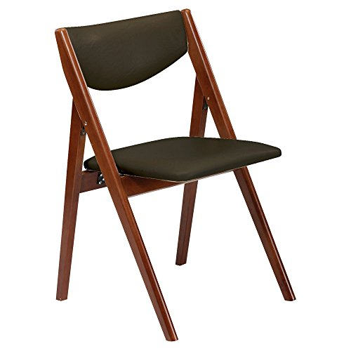 Padded Wooden Folding Chair