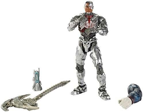 DC Comics Multiverse Justice League Cyborg Figure, 6