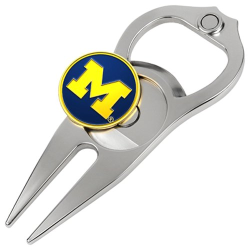 Hat Trick Openers 5-in-1 Divot Tool, Michigan Wolverines
