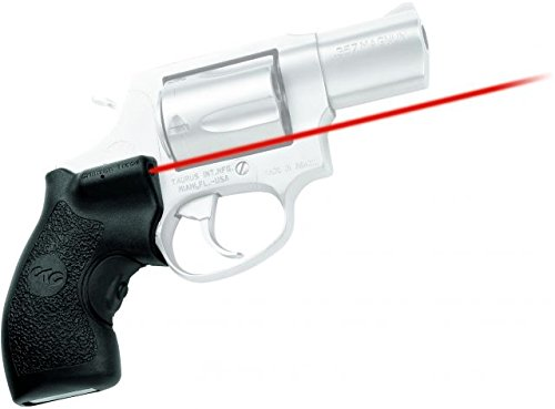 Crimson Trace LG-185 Lasergrips Red Laser Sight Grips for Taurus Small Frame Revolvers by Crimson Trace (Image #1)