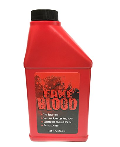 Price comparison product image Fake Blood - Huge 16oz Pint Bottle Of Stage Blood - Matches The Real Color Of Blood