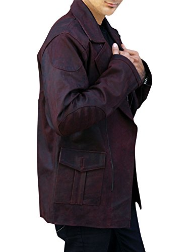 Outfitter Jackets Men's From Paris With Love Travolta Jacket XXX-Large Brown by Outfitter Jackets (Image #2)'