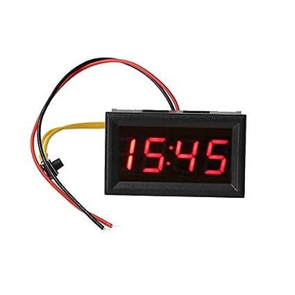Buy World 1 Pcs Universal LED Automotive Car Electronic