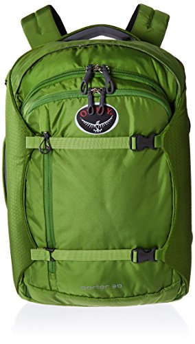 Osprey Porter Travel Duffel Bag, Nitro Green, 30-Liter by Osprey