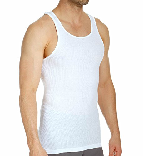 Stafford mens tall x tall length a shirt tank undershirt for Stafford t shirts big and tall