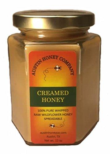 Creamed Honey - Austin Honey Company - 12 oz. Creamed Honey - Raw Smooth Sreadable