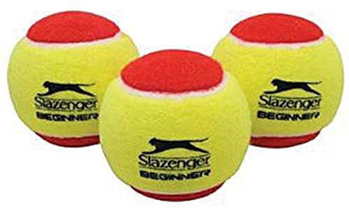 Slazenger Intro Indoor/outdoor Play Low Compression Tennis Ball Pack Of 12 - Pack Slazenger