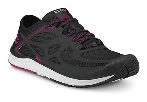 Topo Athletic Women's ST-2 Running Shoe Black/Raspberry (Raspberry Sport Shoe)