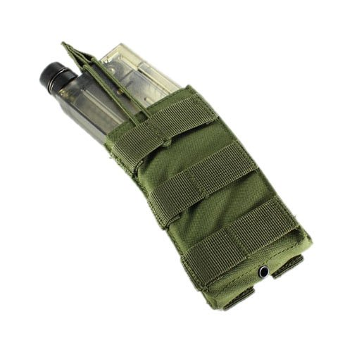(Single M4/M16 Open Top Mag Pouch Color- OD Green)