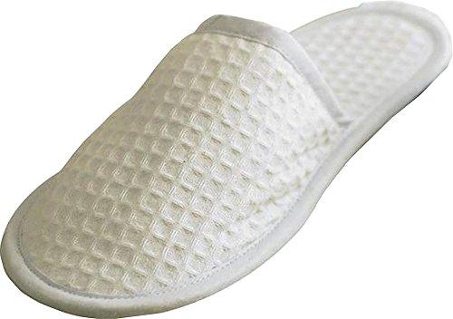 New Towel City Waffle Mule Slippers Unisex Adult Closed Toe Slipper 1h7VB