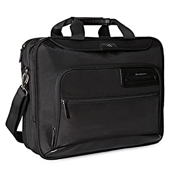 96be1b8ce89e Brenthaven Elliot Deluxe Brief with Organizer Panel Fits 15.4 Inch  Chromebooks,Laptops,Tablets for Commercial,Business and Office ...