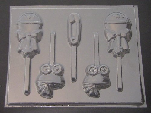 Assorted Baby Chocolate Candy Lollipop Mold]()
