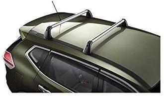 pour Nissan X-Trail 2017 Barres DE Toit pour Voiture 135 CM Barres D/ÉJ/À avec Rails Non ATTACH/ÉS COMPL/ÈTEMENT AU Toit Porte-Bagages en Aluminium HOMOLOGU/É