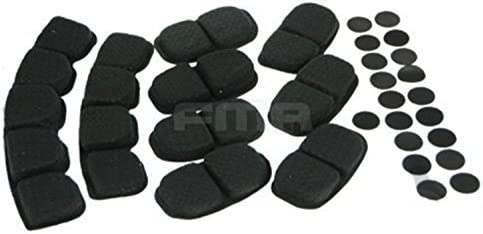 H Monde Shopping tactique des Confort casque de protection Coussin de mousse /à m/émoire de forme Noir