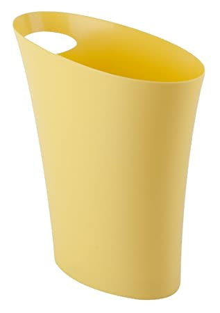 Umbra Skinny Trash Can U2013 Sleek U0026 Stylish Bathroom Trash Can, Small Garbage Can  Wastebasket