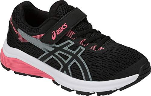 ASICS GT-1000 7 PS Kid's Running Shoe, Black/Black, K10 M US Little Kid