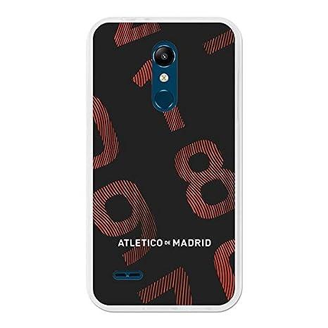 Atlético de Madrid Carcasa Oficial Números LG K11: Amazon.es ...