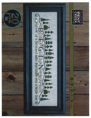 - Begin Row Cross Stitch Chart