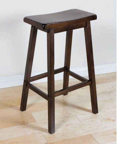 Walnut Bar Stools 29 Inches Set of 2 Saddle Backless Home Kitchen Patio Breakfast Indoor Outdoor For Sale Tabouret WOOD Chairs Restaurant Outside Furniture In Clear Seats Garage Inch Pub Sports (Sale Bar Chair For)