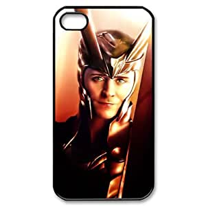 IMISSU Customized Print Thor Loki Pattern Back Case for iPhone 4/4S