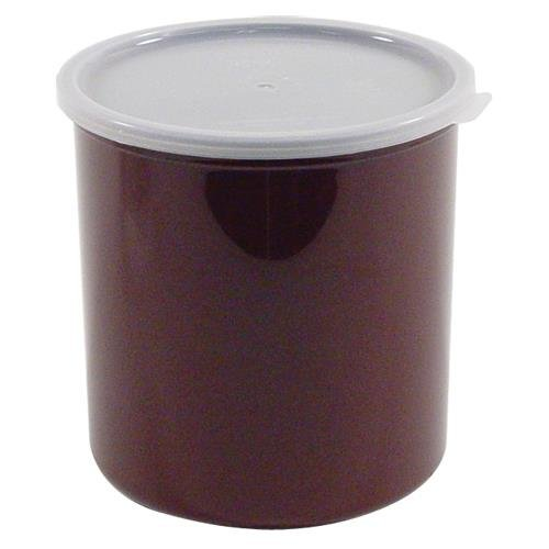 Cambro Manufacturing CP27195 Crock with Lid Reddish Brown 2.7 qt (1 EACH)