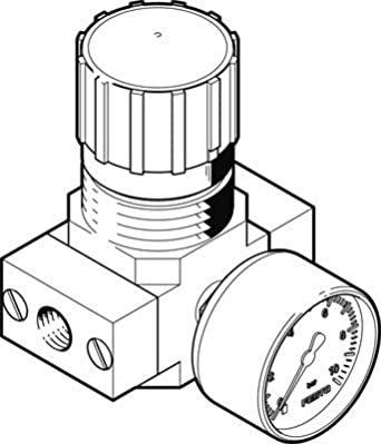 Festo 526263/LR-1//8-d-7-micro regolatore di pressione
