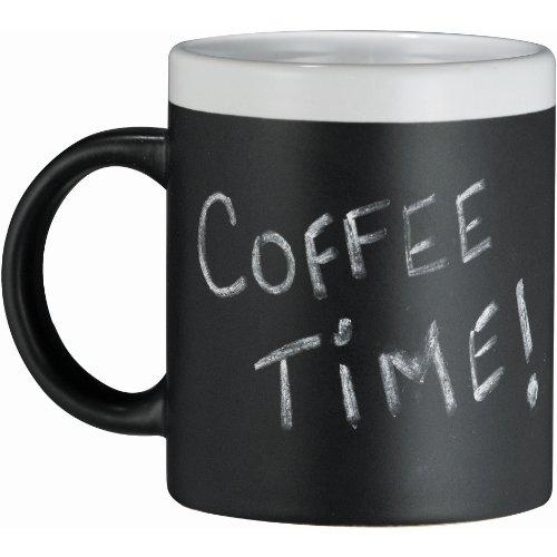 Modern Living Chalk Board Coffee Mug (White)