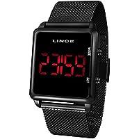 Relógio Lince Masculino Ref: Mdn4596l Pxpx Digital LED Black