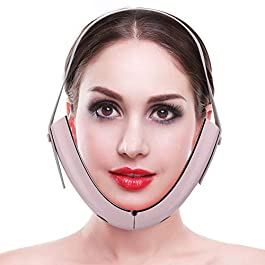 Face Lifting Belt, Electric Micro-Current Face Massager, Double Chin Strap, Skin Care Chin Lifting Firming, Facial…