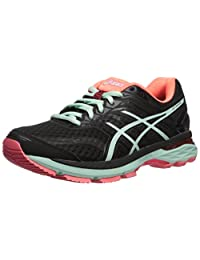 ASICS Women's GT-2000 5 Running-Shoes, Black/Bay/Diva Pink