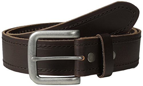 Bill Belt (Bill Adler Men's Stitched and Heat Creased Leather Belt, Brown,)