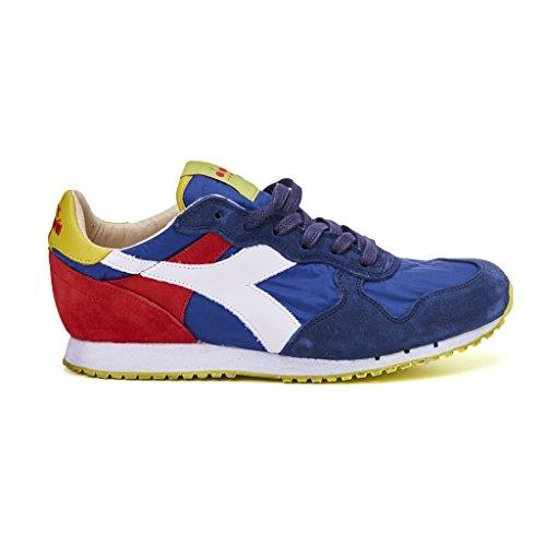 sneakers uomo diadora heritage trident ny s.w nylon blu