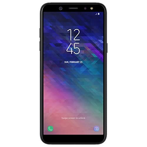 chollos oferta descuentos barato Samsung Galaxy A6 Smartphone 14 25 cm 5 6 Zoll AMOLED Display 32GB Interner Speicher und 3GB RAM Dual SIM Android 8 0 Schwarz German Version
