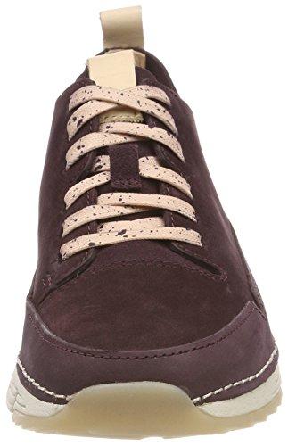Basses Femme Sneakers Spark Violet Aubergine Tri Clarks qytF7aR7