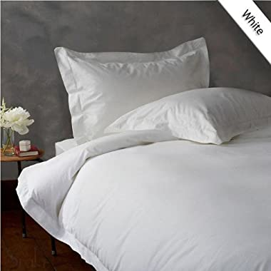 EXPANDED QUEEN 600TC SUPER SOFT SHEET SET 100% EGYPTIAN COTTON 15 INCHES DEEP POCKET ,WHITE SOLID