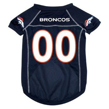 Denver Broncos Pet Jersey, Medium
