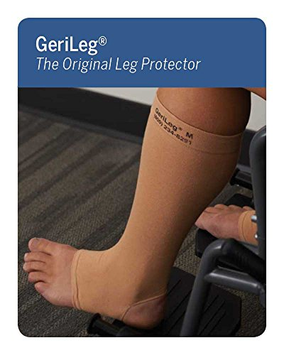 Prevent Products, Inc. - GeriLeg® Elderly Leg Skin Protector, Thin Skin Tear & Bruise Protective Leg Sleeve - Made in (Skin Tear)