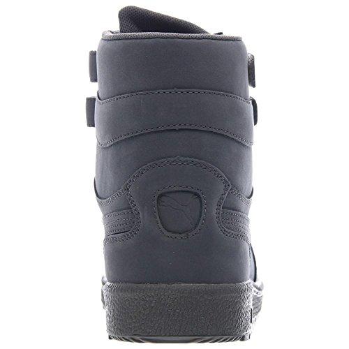 Puma Sky Ii Hola Mono Nbk gris para hombre de alta Nubuck superior hacia arriba las zapatillas de de Steel Grey/White