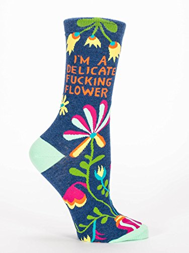 blue-q-socks-womens-crew-im-a-delicate-f-king-flower