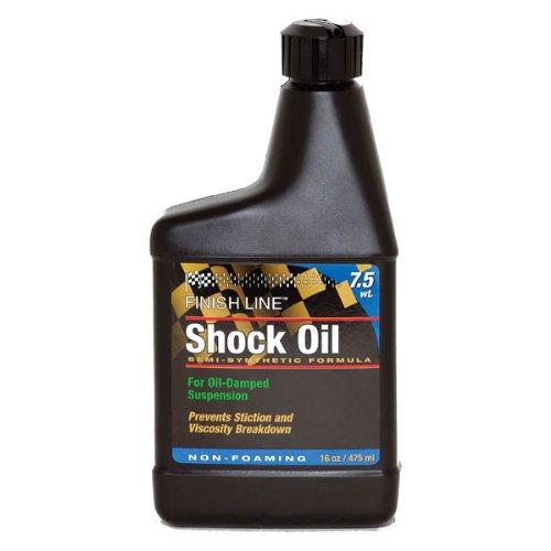Shock Lube - Finish Line 7.5wt Suspension Shock Oil 16oz Botle
