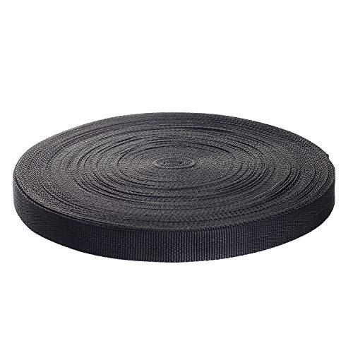 TUKA-i-AKUT 50 meter x 25 mm PP Riem – 1,4 mm Dik – Polypropyleen Singelband 50m Lengte 25mm Breed, voor DIY Rugzak…