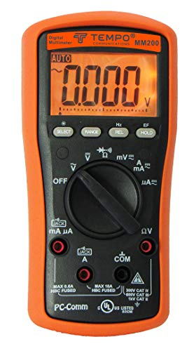 Tempo Communications MM200 Professional Digital Multimeter