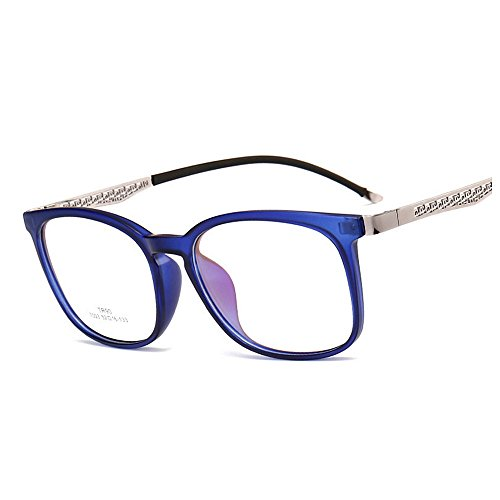 Rose Bleu Lunettes Protection Étudiants pour Lunettes Gu Lady Lunettes UV Style Plain Unisexe Rimmed Peggy Couleur Cadre Soleil Femmes TR90 Classique de Rétro de Hommes Soleil UIqwS4OS