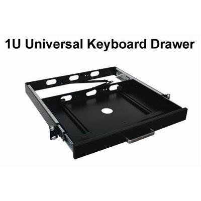 ADESSO Rackmount keyboard Drawer Industrial 1U universal Keyboard drawer